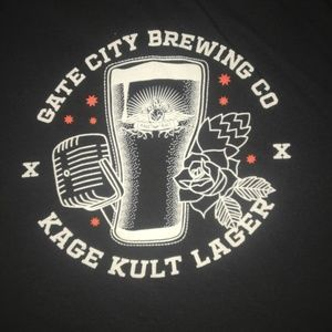 Gate City Brewing Co. Kage Kult Lager Tshirt